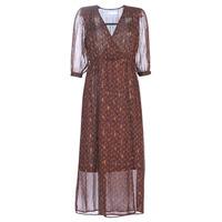 Oblačila Ženske Dolge obleke See U Soon 9221839 Črna / Rdeča