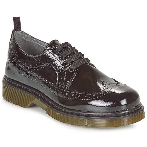 Čevlji  Deklice Čevlji Derby Citrouille et Compagnie LOUVINO Črna