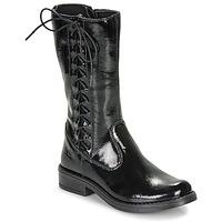 Čevlji  Deklice Mestni škornji    Citrouille et Compagnie LAMINOTE Črna