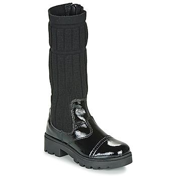Čevlji  Deklice Mestni škornji    Citrouille et Compagnie LAPADOU Črna