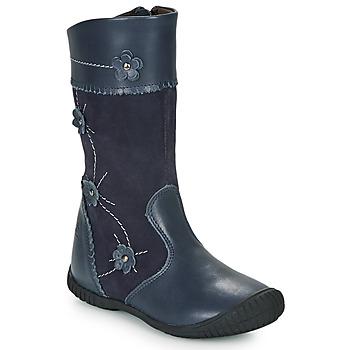 Čevlji  Deklice Mestni škornji    Citrouille et Compagnie AMATIS Modra