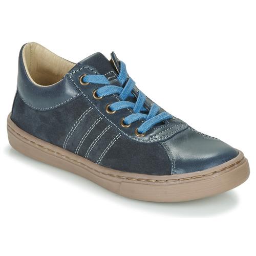Čevlji  Dečki Čevlji Derby Citrouille et Compagnie LIMINO Modra