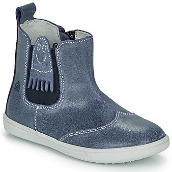 Čevlji  Dečki Polškornji Citrouille et Compagnie LESKIMO Modra