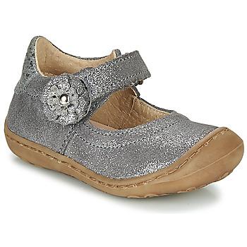 Čevlji  Deklice Balerinke Citrouille et Compagnie LASKIMA Siva