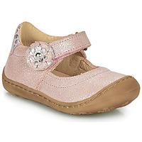 Čevlji  Deklice Balerinke Citrouille et Compagnie LASKIMA Rožnata