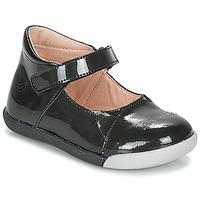 Čevlji  Deklice Balerinke Citrouille et Compagnie LAKALA Črna