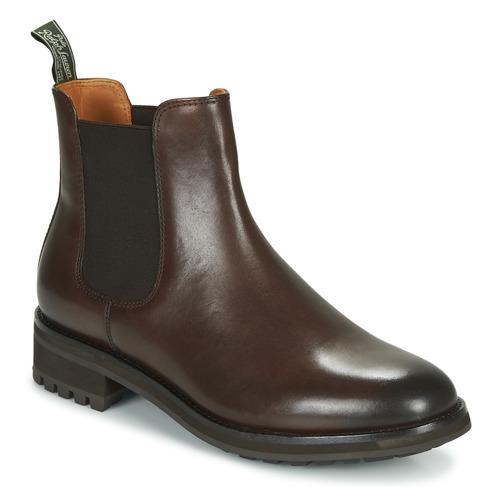 Čevlji  Moški Polškornji Polo Ralph Lauren BRYSON CHLS Kostanjeva