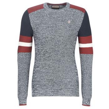 Oblačila Moški Puloverji Petrol Industries M-3090-KWR227-5091 Siva / Modra / Rdeča