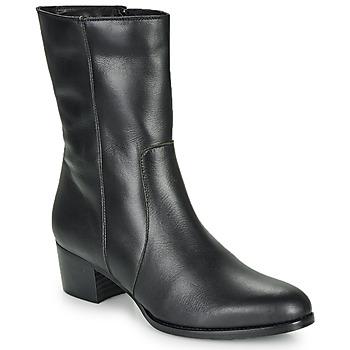 Čevlji  Ženske Gležnjarji So Size GASPARD Črna
