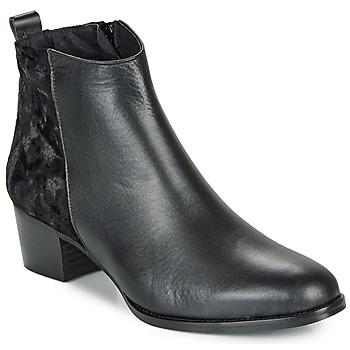 Čevlji  Ženske Gležnjarji So Size GUILERMO Črna