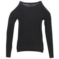 Oblačila Ženske Puloverji Guess CUTOUT Črna
