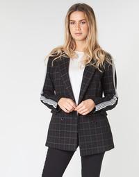 Oblačila Ženske Plašči Benetton SUDIDEL Črna