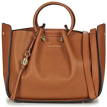 Torbice Ženske Ročne torbice Ted Lapidus GRETEL Cognac
