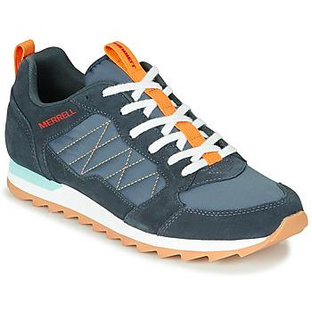 Čevlji  Moški Nizke superge Merrell ALPINE SNEAKER Modra / Oranžna