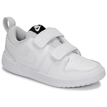 Čevlji  Otroci Nizke superge Nike PICO 5 PRE-SCHOOL Bela