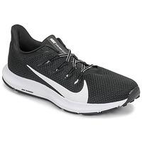 Čevlji  Moški Tek & Trail Nike QUEST 2 Črna / Bela