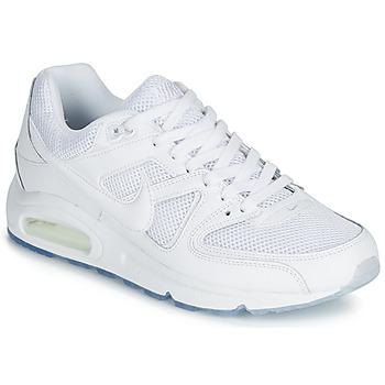 Čevlji  Moški Nizke superge Nike AIR MAX COMMAND Bela