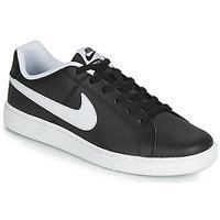 Čevlji  Moški Nizke superge Nike COURT ROYALE Črna / Bela