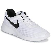 Čevlji  Moški Nizke superge Nike TANJUN Bela / Črna