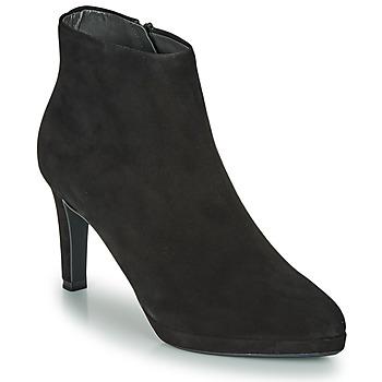 Čevlji  Ženske Gležnjarji Peter Kaiser PRISSY Črna