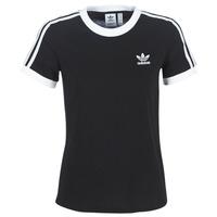 Oblačila Ženske Majice s kratkimi rokavi adidas Originals 3 STR TEE Črna