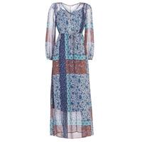 Oblačila Ženske Dolge obleke Cream SAMA Modra / Kostanjeva