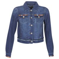 Oblačila Ženske Jeans jakne Cream DIWA Modra