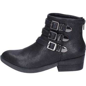 Čevlji  Ženske Gležnjarji Francescomilano BR32 Črna
