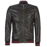 Oblačila Moški Usnjene jakne & Sintetične jakne Desigual ANTON Kostanjeva