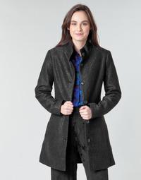 Oblačila Ženske Plašči Desigual SIMONE Črna