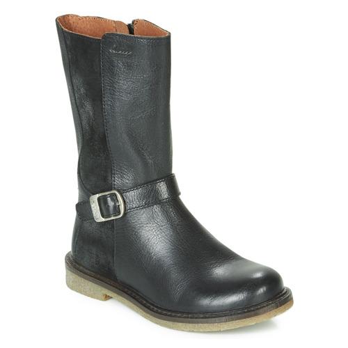Čevlji  Deklice Mestni škornji    Aster WALI Črna