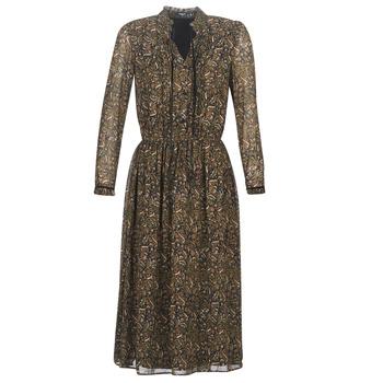 Oblačila Ženske Kratke obleke Deeluxe SELENA Črna