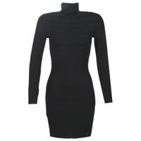 Oblačila Ženske Kratke obleke Morgan RMENTO Črna