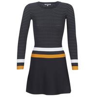 Oblačila Ženske Kratke obleke Morgan ROXFA Bela / Rumena