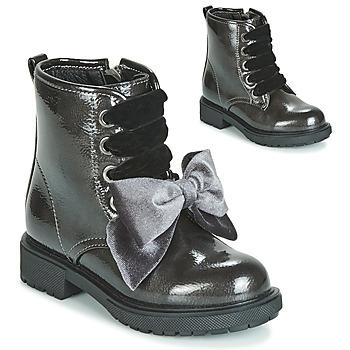 Čevlji  Deklice Polškornji Gioseppo LEHRE Siva