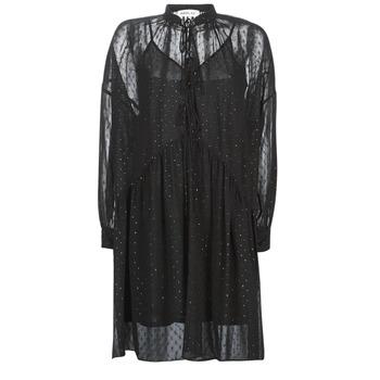 Oblačila Ženske Kratke obleke Replay W9525-000-83494-098 Črna