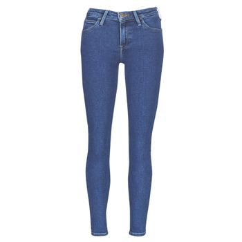 Oblačila Ženske Kavbojke slim Lee SCARLETT STONE MILTONA Modra