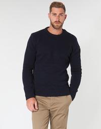 Oblačila Moški Puloverji Schott PLOUTRIDER1 Modra