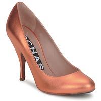 Čevlji  Ženske Salonarji Rochas RO18061-90 Metallic-orange