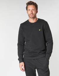 Oblačila Moški Puloverji Lyle & Scott ML424VTR-574 Črna