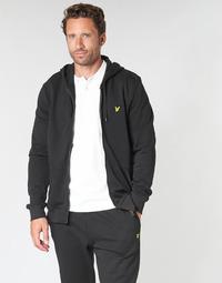 Oblačila Moški Puloverji Lyle & Scott ML420VTR-574 Črna