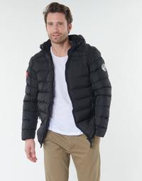 Oblačila Moški Puhovke Geographical Norway BALANCE-NOIR Črna