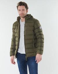 Oblačila Moški Puhovke Geographical Norway BALANCE-KAKI Kaki