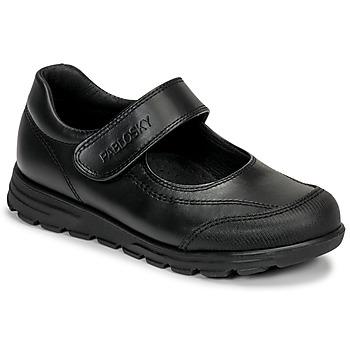 Čevlji  Deklice Balerinke Pablosky 334310 Črna