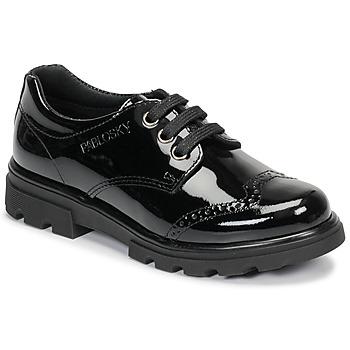 Čevlji  Deklice Čevlji Derby Pablosky 335419 Črna