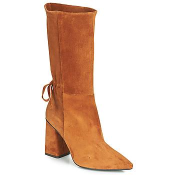 Čevlji  Ženske Mestni škornji    Fericelli LUCIANA Kamel