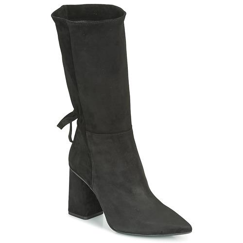 Čevlji  Ženske Mestni škornji    Fericelli LUCIANA Črna