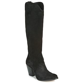 Čevlji  Ženske Mestni škornji    Fericelli LUNIPIOLLE Črna