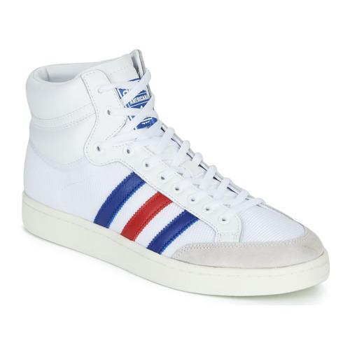 Čevlji  Visoke superge adidas Originals AMERICANA HI Bela / Modra / Rdeča