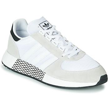 Čevlji  Nizke superge adidas Originals MARATHON TECH Bela